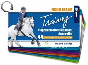 training michel robert programme d'entrainement du cavalier